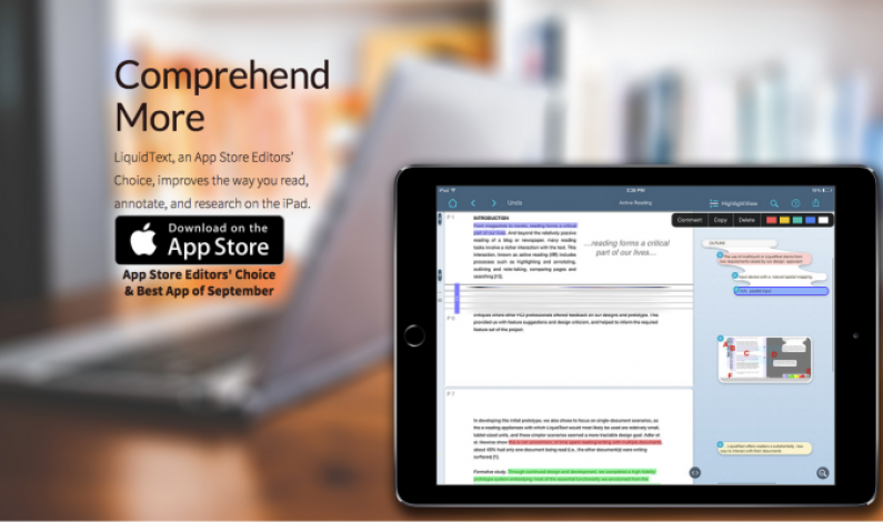 Annotation And Document Management App LiquidText Releases New Features For IPad
