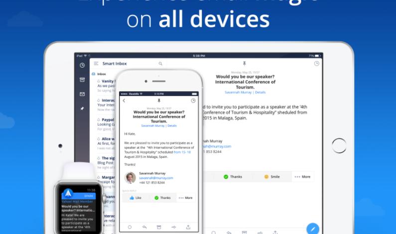 Spark, The Mailbox Alternative, Lands On The iPad