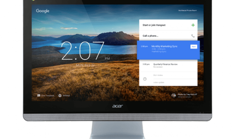 Acer's new $799 Chromebase all-in-one PC is optimized for video conferencing